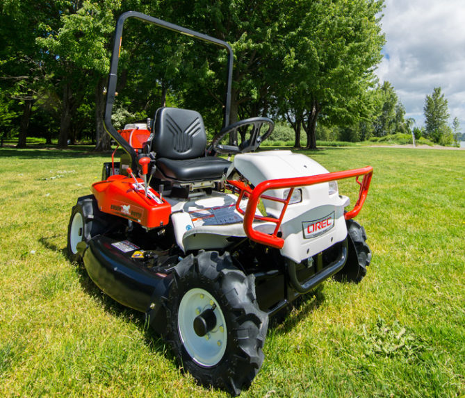 Riding Brush Mower Brush Rover 669x573