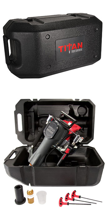 Titan Post Driver with Protective Case